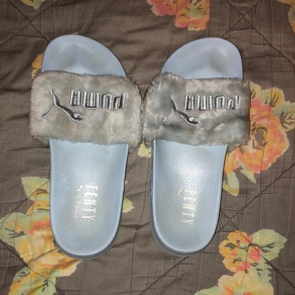 939eeda9f2 Puma fenty slides by Rihanna cool blue 8.5. M_5b95f6233e0caa7a77e71f7b